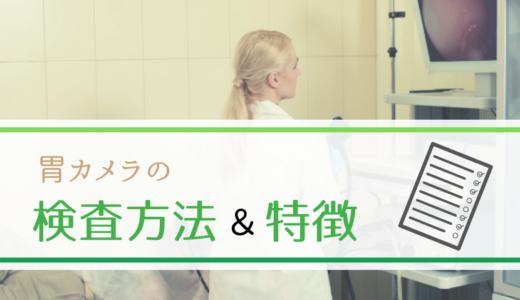 胃カメラの検査方法と特徴は?